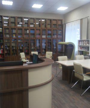 библиотека в Кемеровском государственном институте культуры